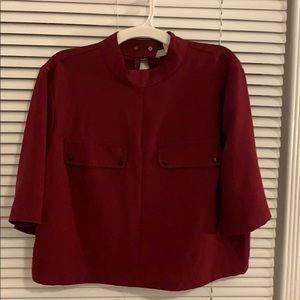 Crop too dressy shirt